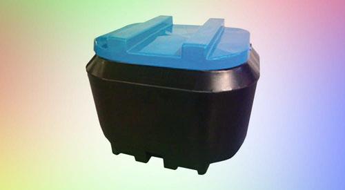 750kgs Mobile Plastic Meal Bin